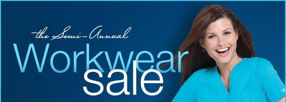 The semi-annual Workwear sale