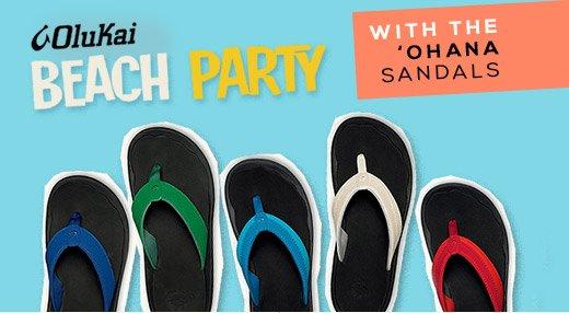 Olukai Beach Party