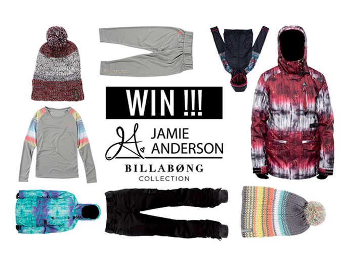 Win Jamie Anderson Billabong Collection