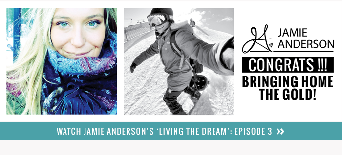 Jamie Anderson Congrats for Bringing Home the Gold!
