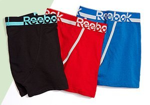 Reebok Briefs, T-Shirts & More