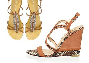 Spring Shoes: Wedges, Sandals & More