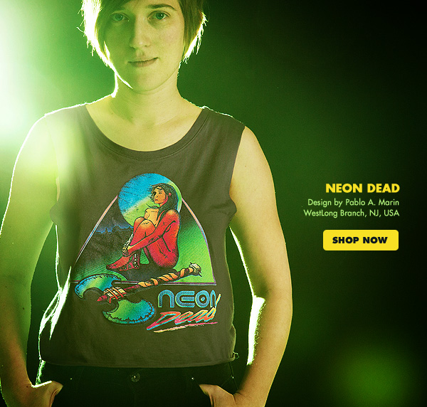 NEON DEAD Design by  Pablo A. Marin