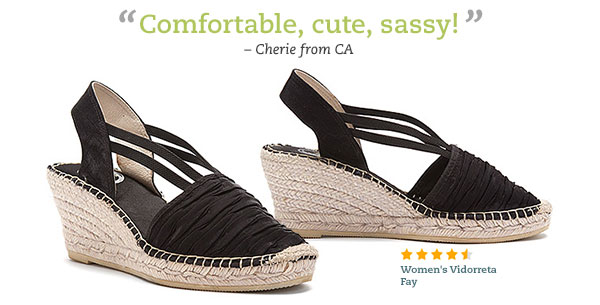 Comfortable, cute, sassy! -Cherie, CA - Women's Vidorreta Fay