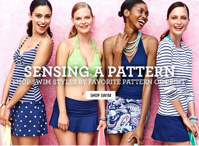 Sensing A Pattern - Shop Swim By Patterns