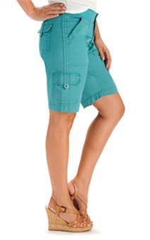 Easy Fit Brady Knit Waist Cargo Bermuda