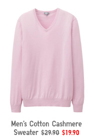 Men's Cotton Cashmere Sweater