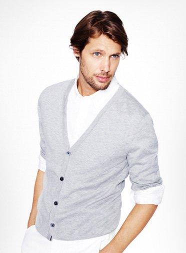 Men's Cotton Cashmere Cardigan