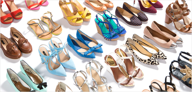 Shoes to Jump-Start Spring. No. Holding. Back.