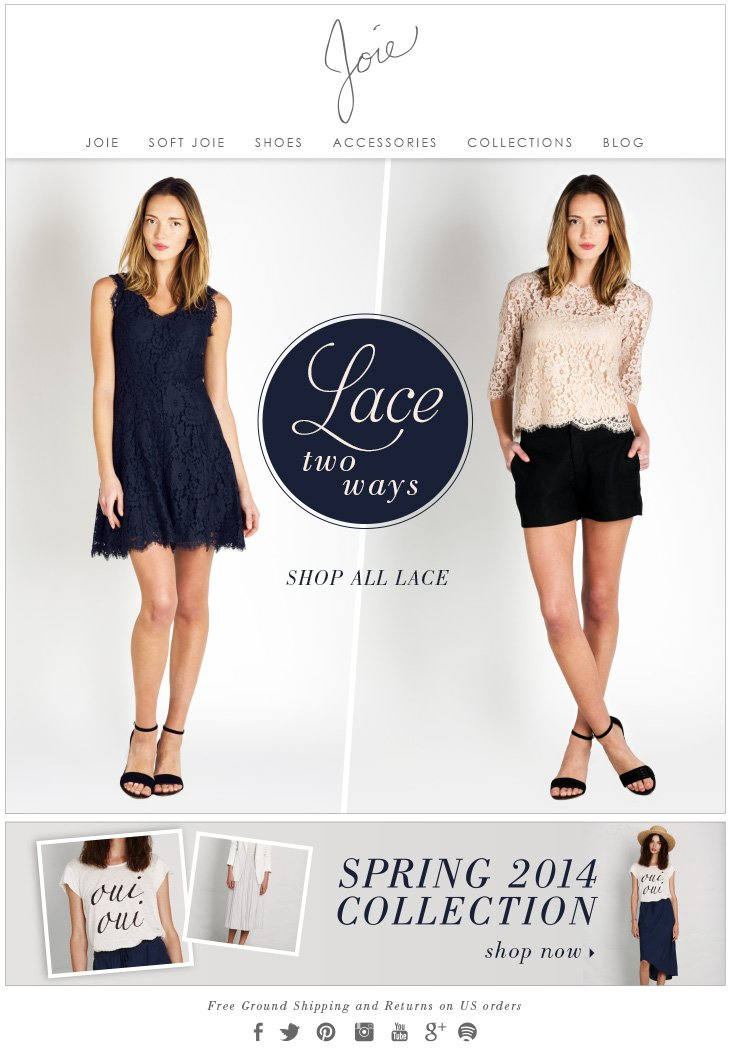 Lace two ways SHOP ALL LACE