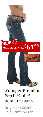 Wrangler Jeans - Sadie Premium Patch Boot Cut Jeans