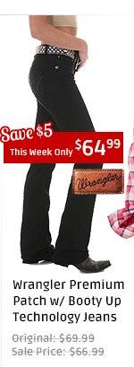 Wrangler Jeans - Booty Up Black Wash