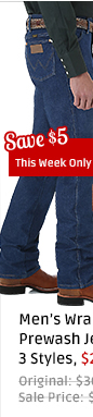 Wrangler Prewash Jeans