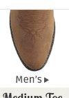All Mens Medium Toe Boots on Sale