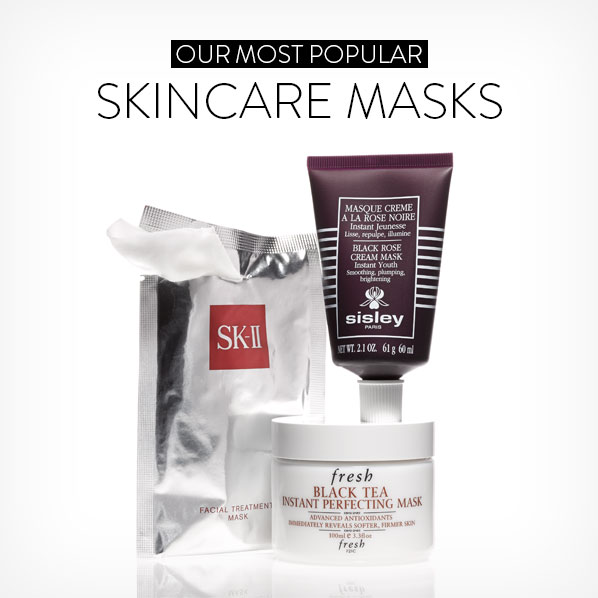 OUR MOST POPULAR SKINCARE MASKS