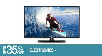 Up to 35% off Electronics