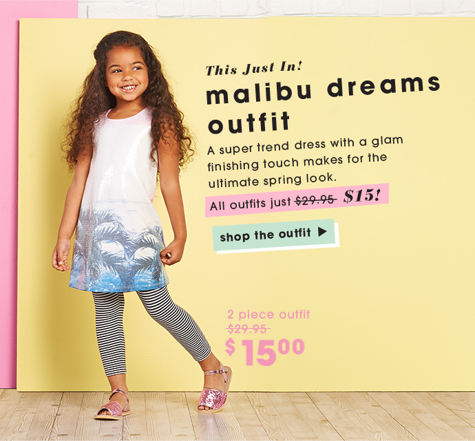 Malibu Sequins Outfit Is In - Just $15.