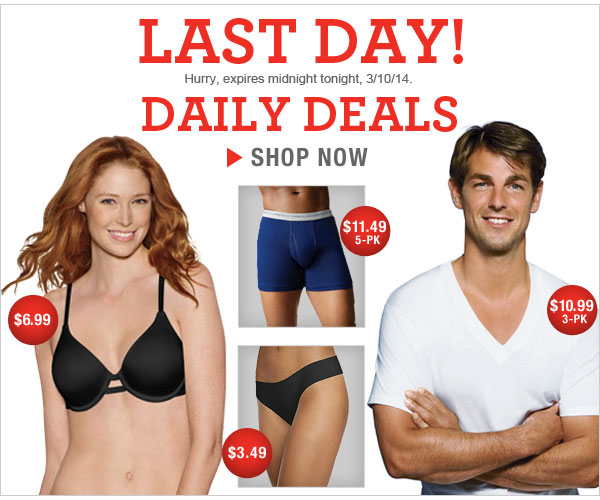 Last Day: Daily Deals as low as $3.49