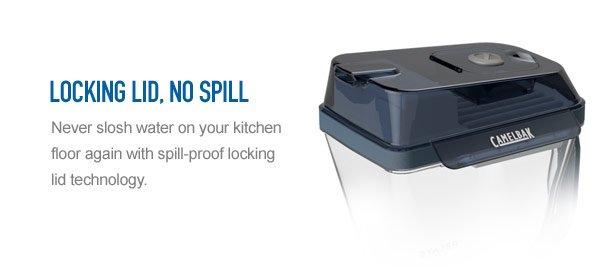 Locking Lid, No Spill