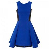 DKNY - Flared neoprene dress