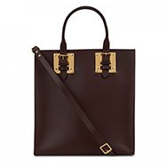 SOPHIE HULME - Buckled leather tote
