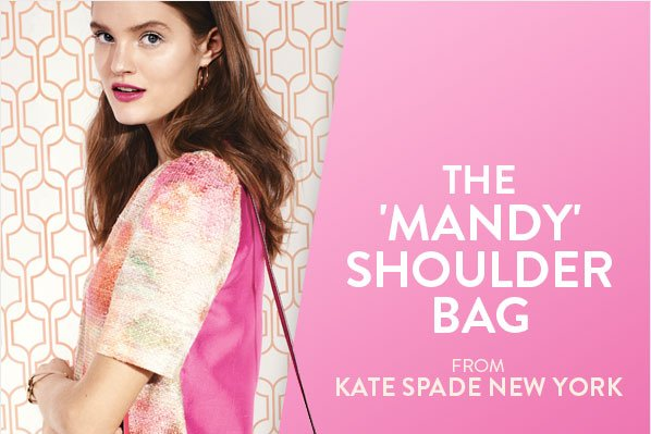 THE 'MANDY' SHOULDER BAG - FROM KATE SPADE NEW YORK