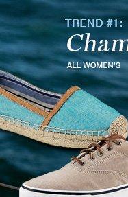 WOMEN'S CHAMBRAY