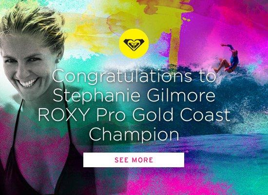 Congrats Stephanie Gilmore!