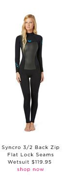 Syncro Wetsuit: $119.95