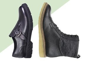 A Sturdy Step: Thick Soled Shoes