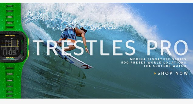 Trestles Pro - Medina Signature Series - Shop Now