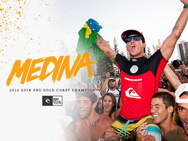 Medina - 2014 Quik Pro Gold Coast Champion