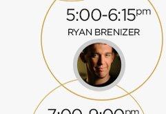 5:00-6:15pm: Ryan Brenizer