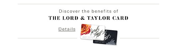 The Lord & Taylor Card