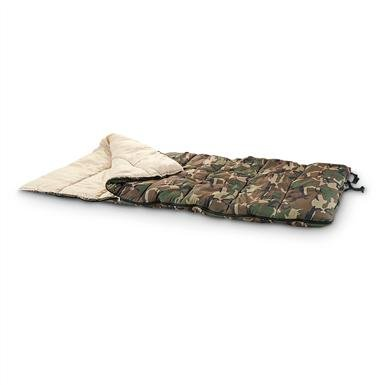 HQ Issue™ WWII Camo Sleeping Bag