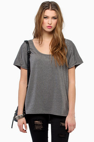 Falling Behind Tunic Top $28