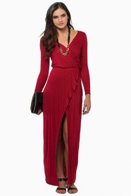 Mimi Maxi Wrap Dress $42