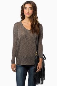 What's the Scoop Neck Sweater $23