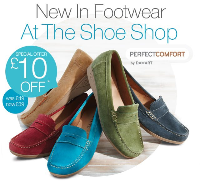 New In Footwear At The Shoe Shop