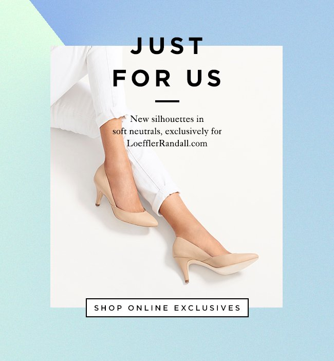 Shop Spring Online Exclusives at The Official Loeffler Randall Store www.LoefflerRandall.com