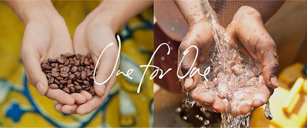 With every bag of coffee you purchase, TOMS will provide one week of clean water to a person in need. One for One.™