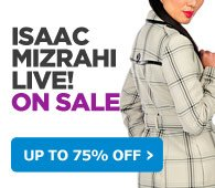 ISAAC MIZRAHI LIVE! ON SALE