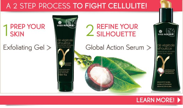 A 2 STEP PROCESS TO FIGHT CELLULITE!