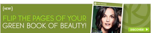 FLIP THE PAGES OF YOUR GREEN BOOK OF BEAUTY!