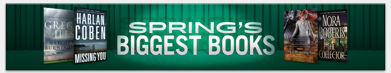 Spring's Biggest Books