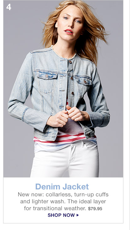 4 Denim Jacket | SHOP NOW