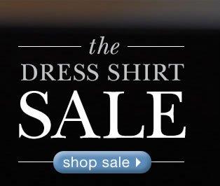 The Dress Shirt Sale: Shop Sale