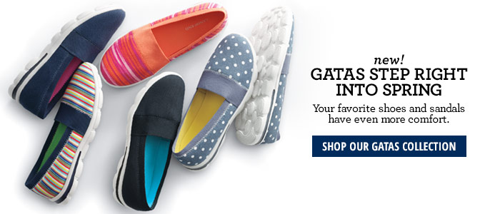 New! Gatas Step Right Into Spring