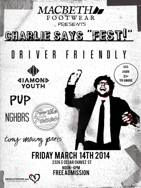 Charlie Says Flyer34