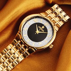 On Trend: Gold Tone Watches